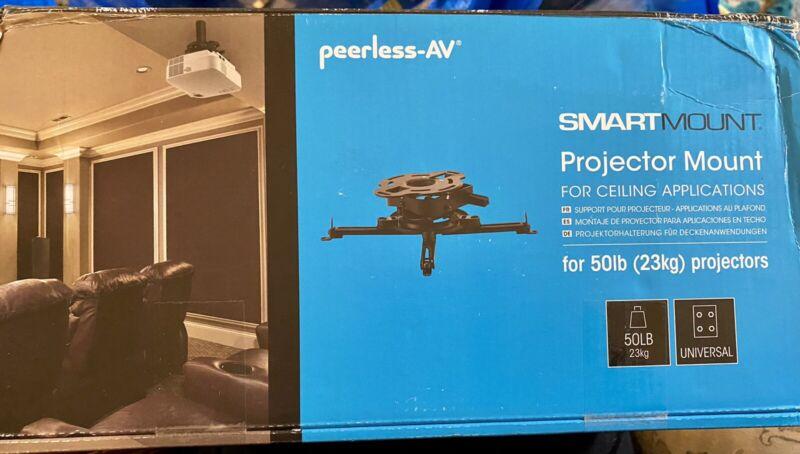 Peerless AV SmartMount Projector Mount w/ Precise Image Alignment
