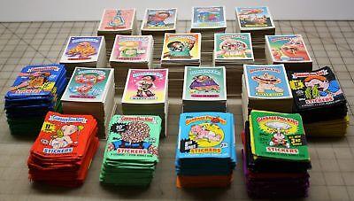 1985-88 Garbage Pail Kids Original Series 2 Up 14 Grab Bag Pack Cards Wrappers