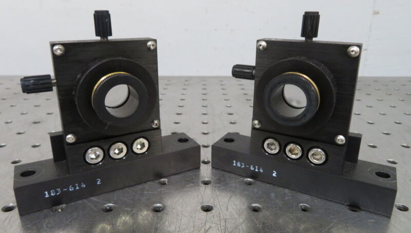 """C174759 Lot 2 Newport M-LP-05-XYZ 3-Axis Lens Positioner (for 1/2"""" 0.5"""" Optics)"""