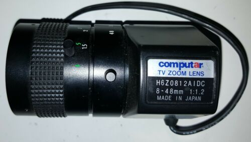 Computar TV Zoom Lens H6Z0812AIDC 8 - 48mm 1:1.2