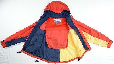 NEW Regatta Sport Mens Medium M Multi-Color Self-Storing Nylon Sailing Jacket