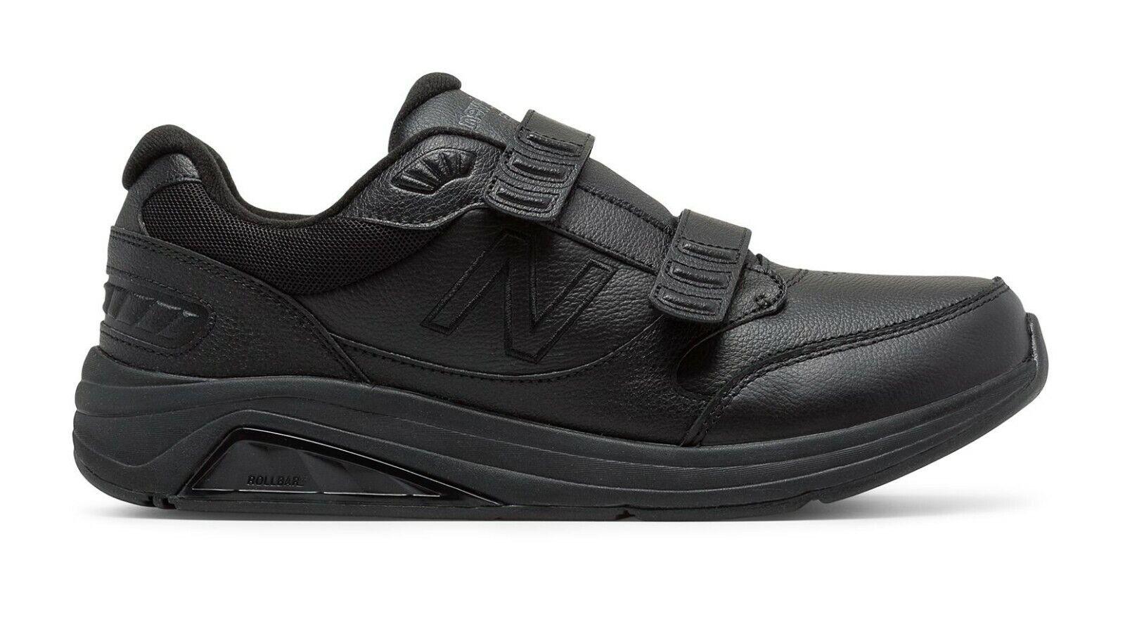Men's NEW BALANCE 928v3 WALKING SNEAKERS Sz 16 2E Velcro Bla