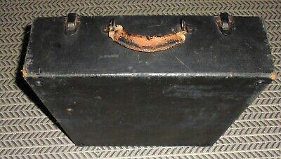 Hickok 532 Tube Tester Original Case Bottom Part