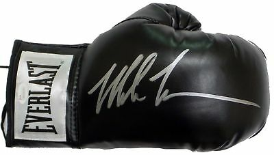 Mike Tyson Signed Autographed Black Boxing Glove JSA Authenticated Right