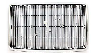 Volvo VNL 1st Gen Grille Chrome w/o Bug Screen 1998-2003 (Replaces 8084221)