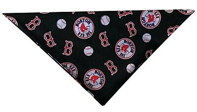Boston Red Sox Bandanas Lot of 12 MLB Baseball 100% Cotton Great for Pets Too Sox 100% Cotton