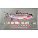 2009 Trout of North America Calendar Print by Joseph Tomelleri Never Open