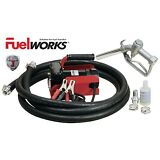 FUELWORKS Electric Diesel Fuel Transfer Pump Kit, 12 Volts & 10GPM; No Gasoline