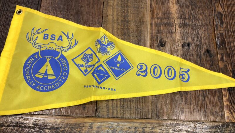 Boy Scout National Camp Accredited Banner 2005