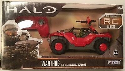 Halo Warthog Vehicle RC Remote Control Car Light Recon Vehicle MATTEL 2016 TYCO
