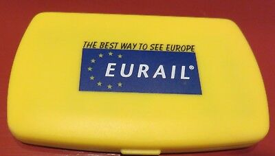 Vintage EURAIL POCKET DATABANK Excellent Condition, Never Used
