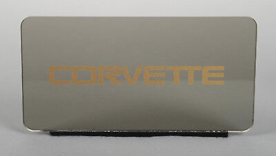 Info Center (Custom Dash Info Center Cover Plate Display Gauge - Gold (1984-1989 C4)