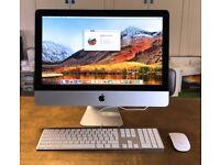 Apple 21.5-inch iMac, i5 Quad Core 2.5GHz, 8GB RAM, 500GB HDD