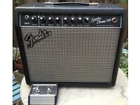 Fender Super Champ XD - Twin Channel Tube Guitar Amplifier with Footswitch