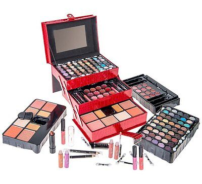 SHANY All In One Makeup Kit (Eyeshadow Palette, Blushes, Powder and More)