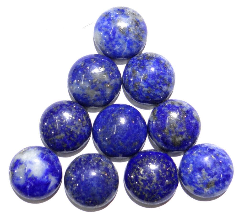Natural Lapis Lazuli Round Beads 14mm Cabochon DIY Jewelry Making 50Pcs//lot