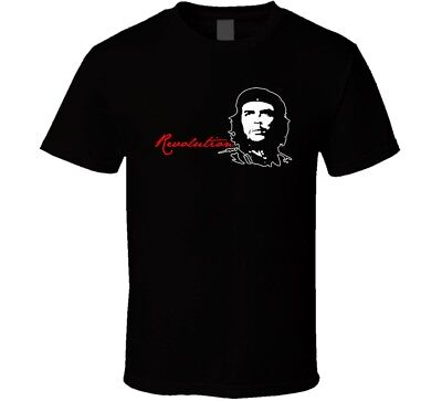 Che Guevara Cotton new shirt black white tshirt men