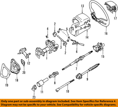 1998 toyota t100 engine diagram toyota oem 97 98 t100 steering wheel 4510034032b1 ebay  toyota oem 97 98 t100 steering wheel
