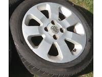 15 inch Alloy Wheel Rim Fits Vauxhall Corsa
