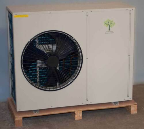 Air to Water Heat Pump--NO Refrigerant Plumbing needed!