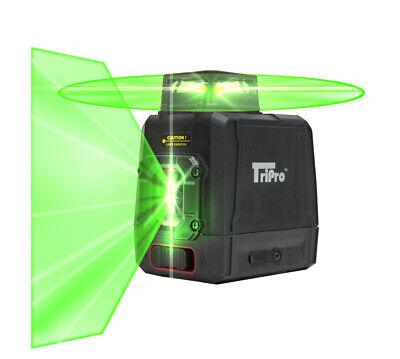 360 Ultra Bright Green Plane Line Auto-level Rotary Cross Laser Tripro Kit