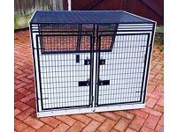 Custom made Lintran dog box for Kia Sedona