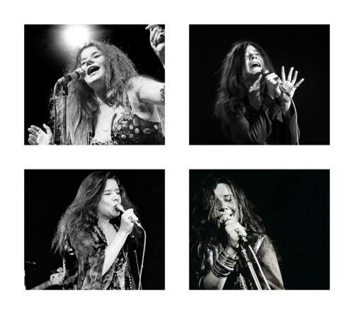 Janis Joplin 11 x 14 Poster Print Collage