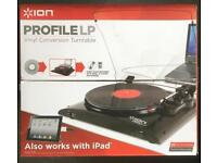 Ion Profile LP Record Player with Archiving Software