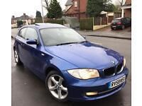 2008 (58) BMW 1 Series 118D SE 2.0 Diesel 77k FSH £30 Tax Long MOT Mint