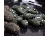 Carp fishing leads from 1.1oz-5oz in a variety of shapes