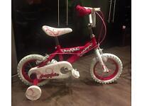 """Girls 10"""" Huffy bike"""