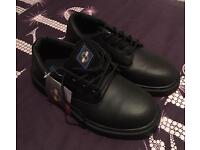 Steel toe cap shoes size 10 brand new with tags