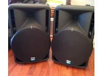dB Technologies Opera Live 402 (active speakers) complete with branded covers and cables