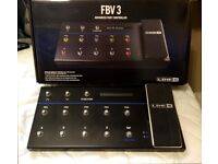Line 6 FBV3 Advanced Footswitch for Line 6 Amps (Boxed - as new)