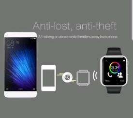 With sim&SD card slot Bluetooth smart watch for android and iPhone brand new in box