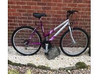 "Lady's 26"" wheel mountain bike."
