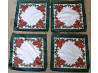 Christmas Linen and more.- Tablecloths, Table Runners, napkins etc...