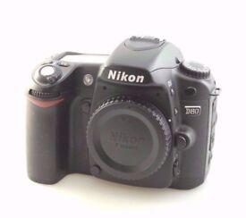 NIKON D80 camera 19k actuations