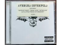 """Avenged Sevenfold featuring """"Almost Easy"""", """"Dear God"""", """"Afterlife"""" & """"A Little Piece of Heaven"""" [CD]"""