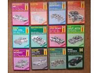 Haynes manuals job lot bundle carboot