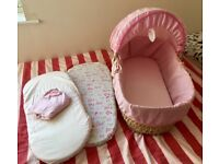 Moses basket bundle