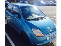 Chevrolet Matiz 1.0L 67K nee issues. Excellent drive. Low tax and insurance