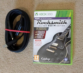 Rocksmith 2014 Edition with real tone cable for Xbox 360