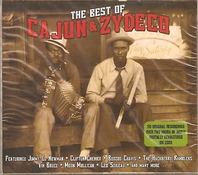 THE VERY BEST OF CAJUN & ZYDECO 2 CD BOX SET