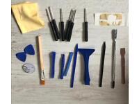 Mobile phone, camera, precision repair kit