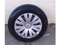citroen c4 alloy wheels 205/55/16 2008-2013 set of 4