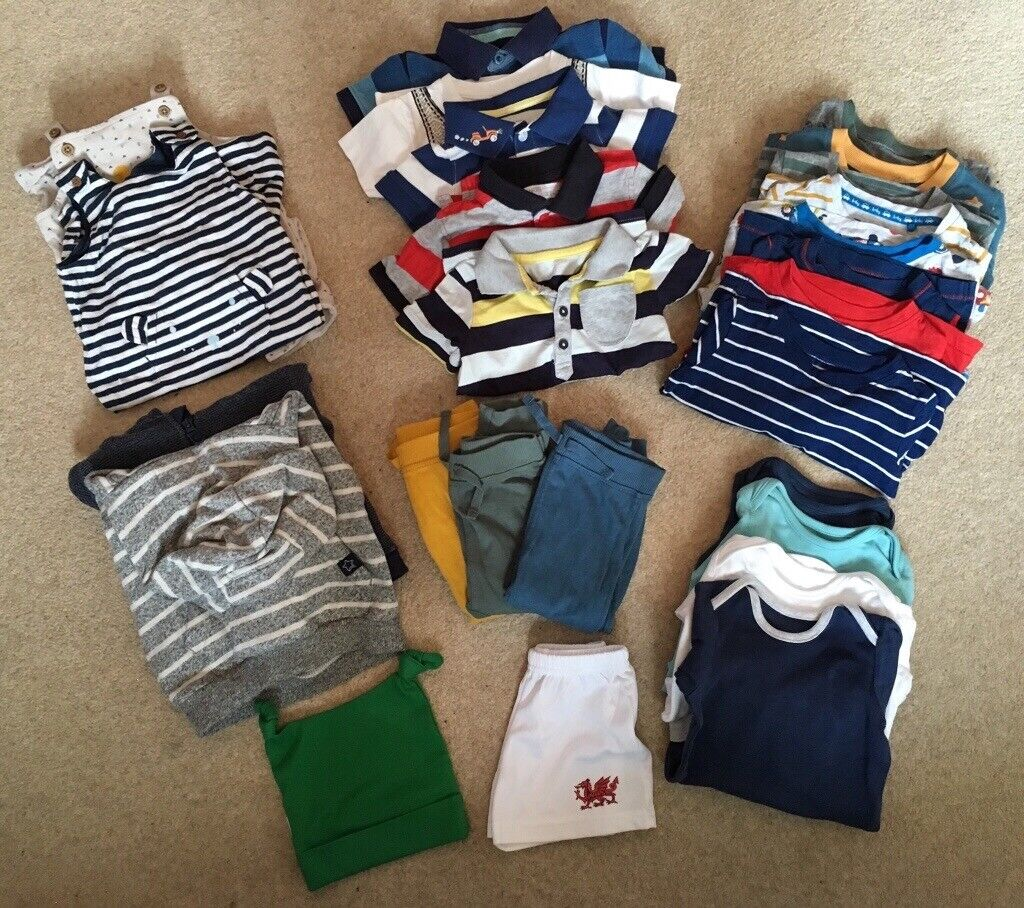 15b3314cb Large bundle baby boy clothes. 9-12 months. Very good condition.