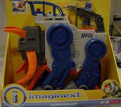 Fisher-Price Imaginext Alpha Walker New