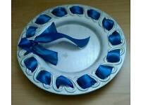 Ceramic plate/tray