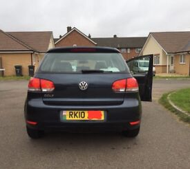VOLKSWAGAN GOLF S 1.4 2010 - BLUE - 5 DOOR - GREAT CONDITION ! 1Yr M.O.T.